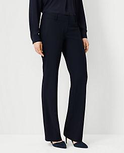 앤테일러 Ann Taylor The Trouser In Seasonless Stretch - Curvy Fit