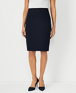 앤테일러 펜슬 스커트 Ann Taylor Seamed Pencil Skirt in Seasonless Stretch