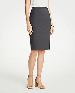 앤테일러 펜슬 스커트 Ann Taylor Petite Tropical Wool Pencil Skirt