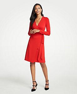 앤테일러 랩 드레스 Ann Taylor Wrap Dress