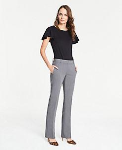 앤테일러 Ann Taylor The Straight Leg Pant,Dark Grey