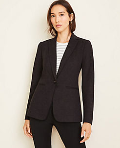 앤테일러 Ann Taylor The Hutton Blazer in Twill