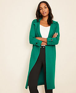 앤테일러 Ann Taylor Sweater Trench