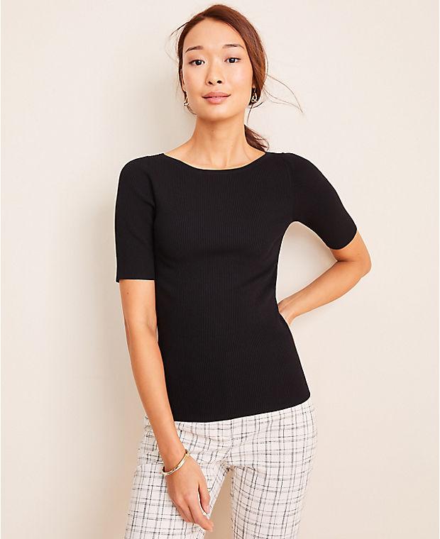 앤테일러 Ann Taylor Boatneck Perfect Pullover