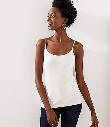 로프트 LOFT Clean Cami,Blush Frost