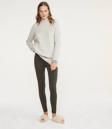 로프트 LOFT Lou & Grey Cozy Flipside Leggings