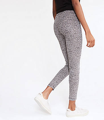 로프트 LOFT Lou & Grey Boucle Tweed Leggings,Black Multi Tweed