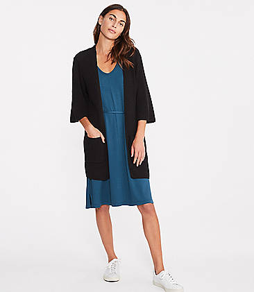 로프트 LOFT Lou & Grey Open Kimono Cardigan