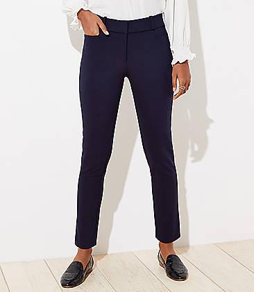 로프트 앵클 팬츠 LOFT Skinny Ankle Pants,Forever Navy