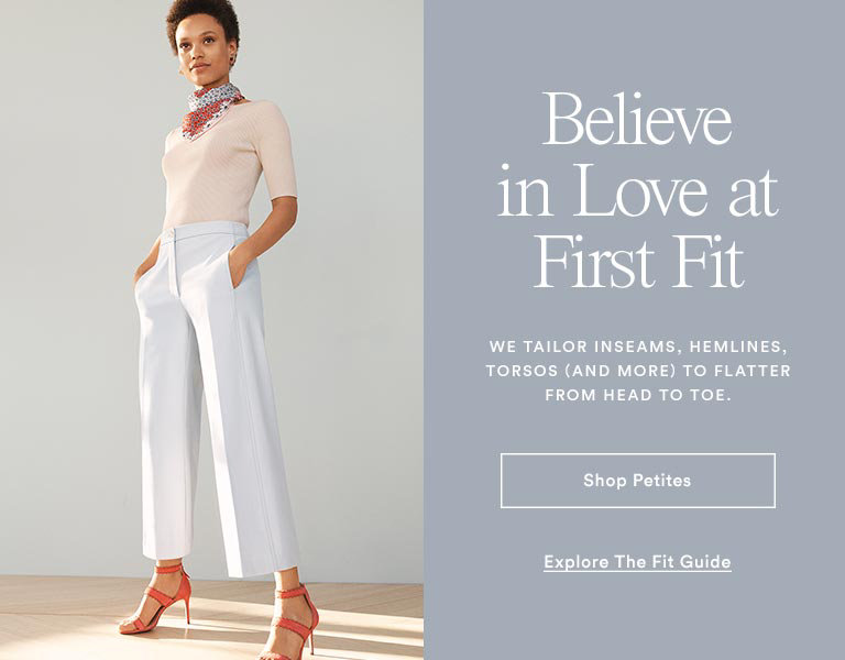 db7e56eb779 Finding a proportion-perfect fit is no longer a chore when you shop the petite  women s clothing collection from Ann Taylor! When you fall in love with a  ...