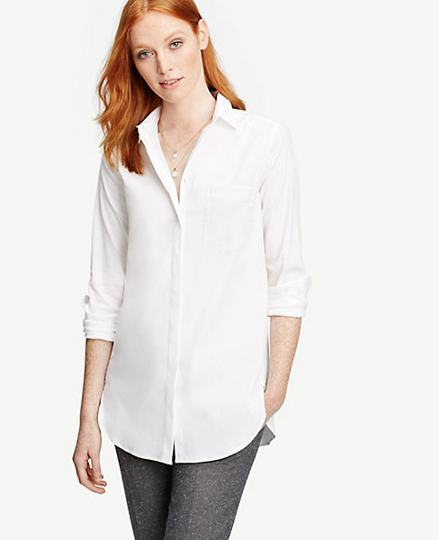 Petite Oversized Shirt
