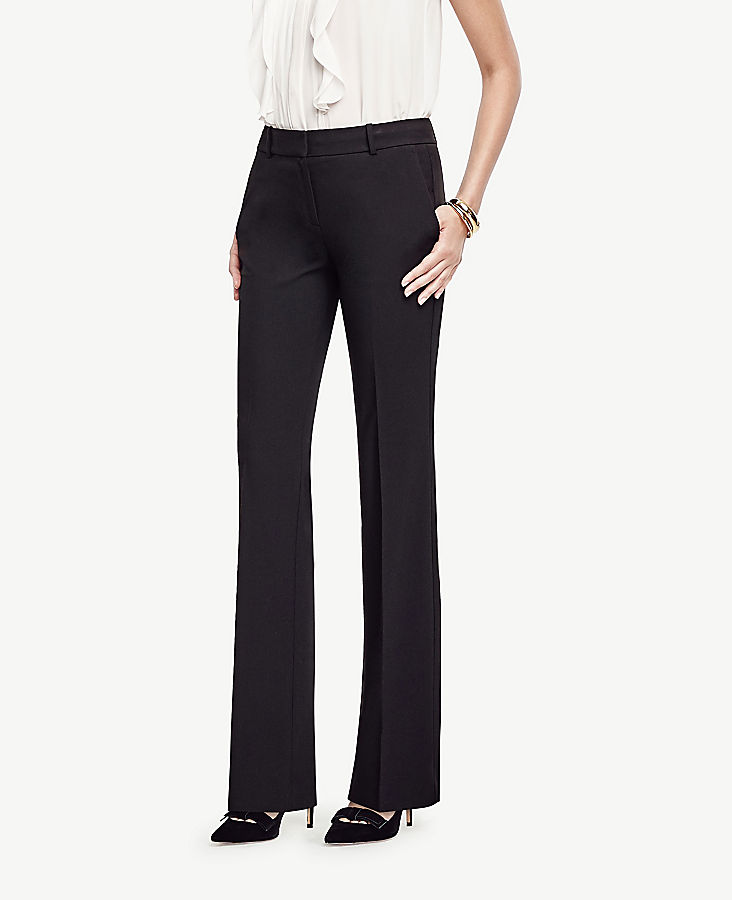 Anntaylor The Petite Trouser Pant In Seasonless Stretch - Classic Fit