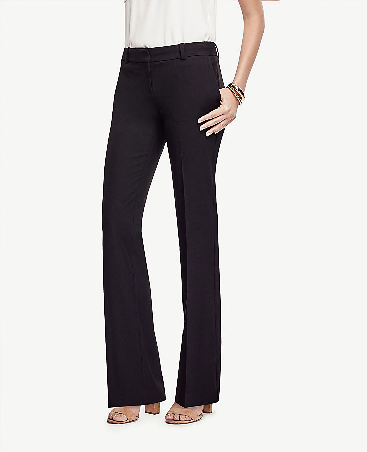 Anntaylor The Petite Trouser Pant In Seasonless Stretch