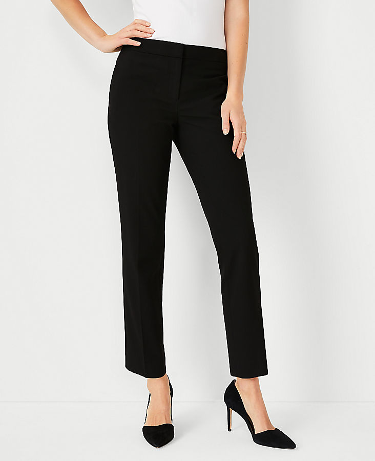 Anntaylor The Petite Ankle Pant In Seasonless Stretch