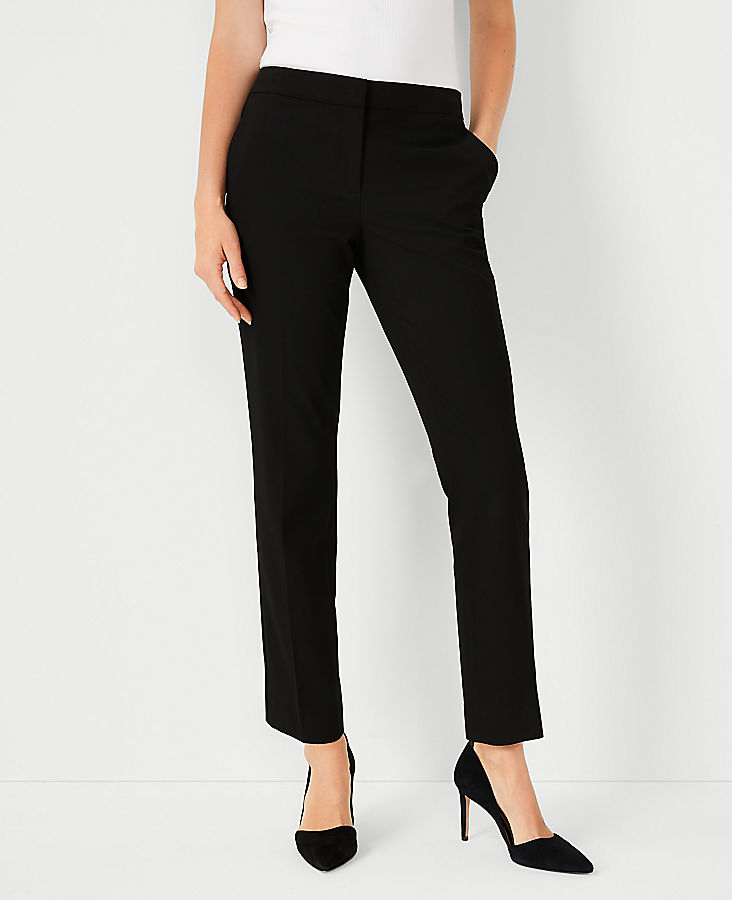 Anntaylor The Petite Ankle Pant In Seasonless Stretch - Curvy Fit