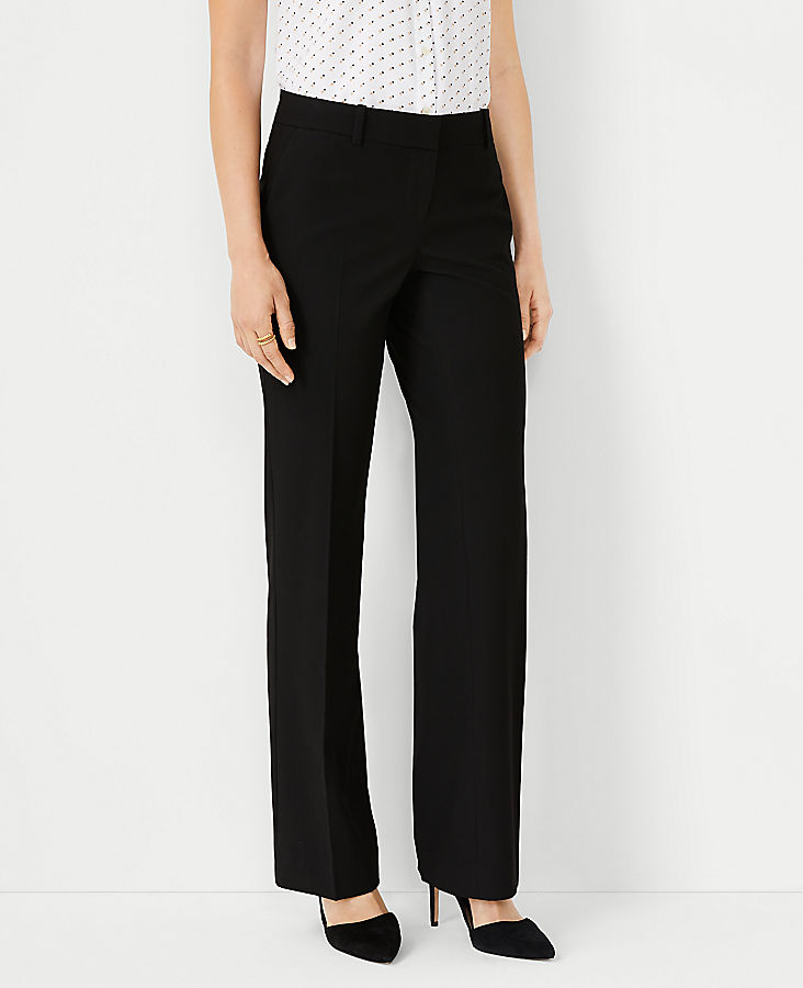 Anntaylor The Petite Trouser Pant In Seasonless Stretch - Curvy Fit