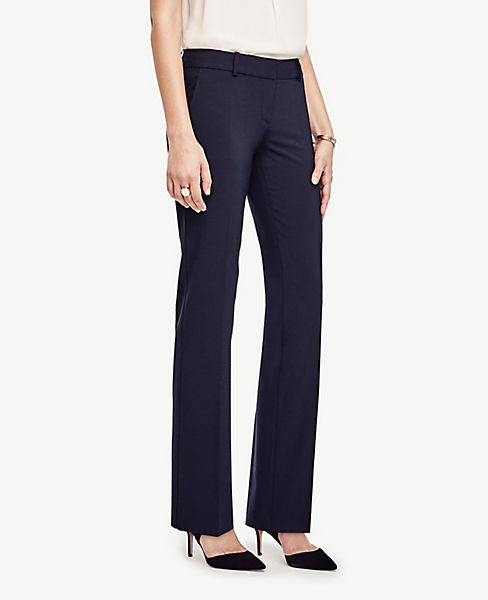 The Petite Straight Leg Pant in Seasonless Stretch - Curvy Fit