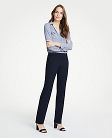 ebf38bf78 Image 3 of 3 - The Petite Straight Pant In Seasonless Stretch - Curvy Fit
