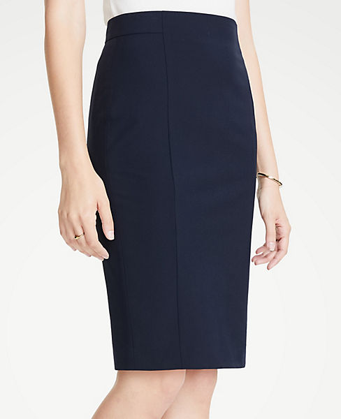 a206e34324 Curvy Seamed Pencil Skirt in Seasonless Stretch | Ann Taylor