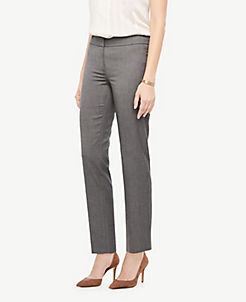 The Ankle Pant In Sharkskin Curvy Fit