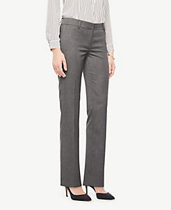 The Straight Leg Pant In Sharkskin Curvy Fit