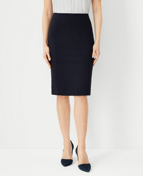 앤테일러 Ann Taylor Ponte Pencil Skirt