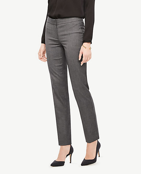 The Petite Ankle Pant In Sharkskin