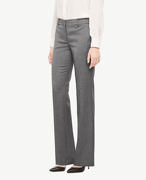 The Petite Trouser Pant In Sharkskin - Classic Fit