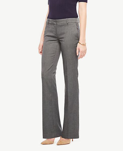 The Petite Trouser In Sharkskin