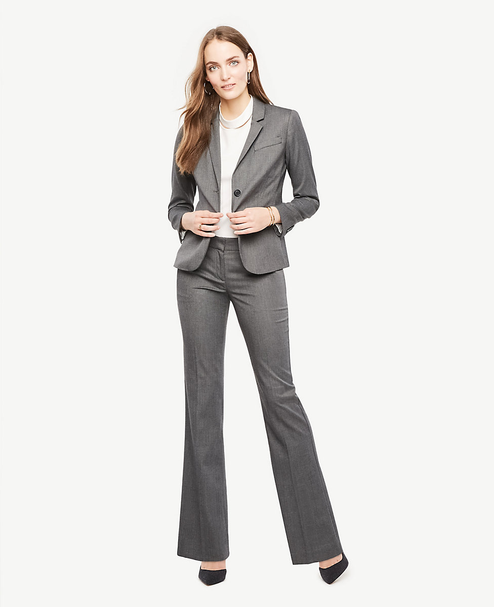 buy search for clearance new arrivals The Petite Trouser Pant In Sharkskin - Curvy Fit | Ann Taylor