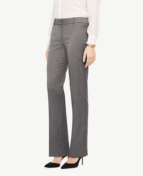 The Petite Straight Leg Pant In Sharkskin - Classic Fit