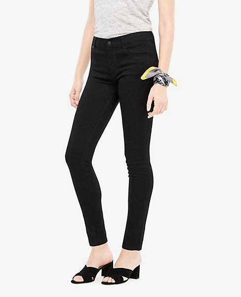 23588221b3341 Curvy Performance Stretch Skinny Jeans in Jet Black