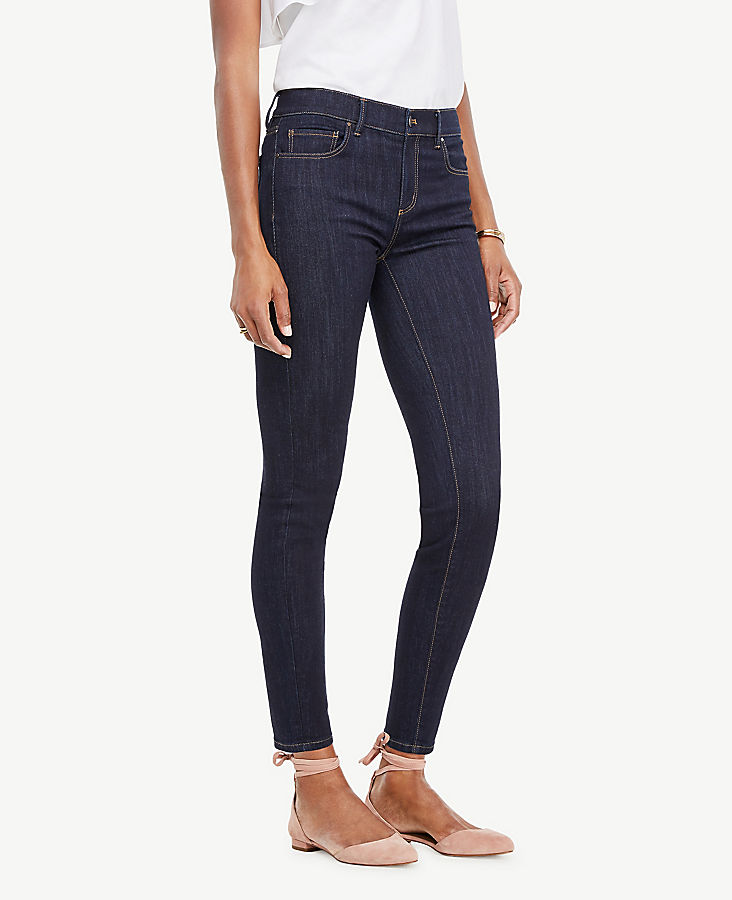 483abc31a Tall Performance Stretch Skinny Jeans in Evening Sea Wash | Ann ...