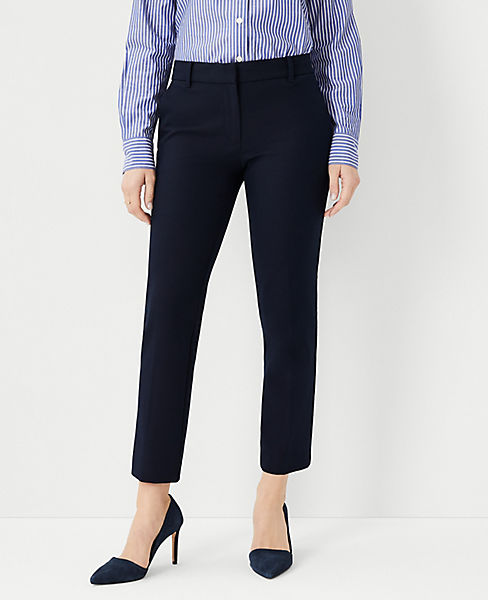 The Petite Ankle Pant In Cotton Twill - Curvy Fit