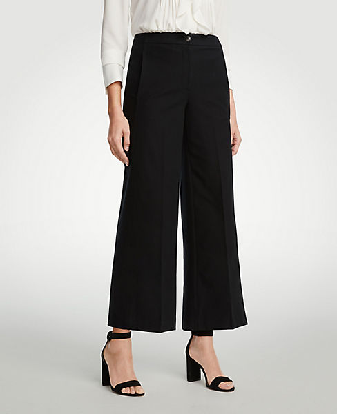 The Petite Wide Leg Marina Pant