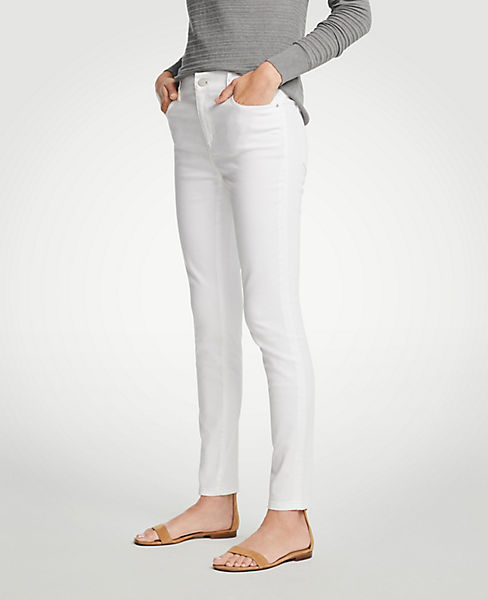 Petite Modern All Day Skinny Jeans In White