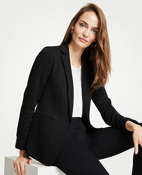 The Petite Knit Blazer