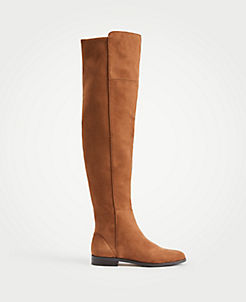 8be76cd16c Carlene Suede Over The Knee Boots