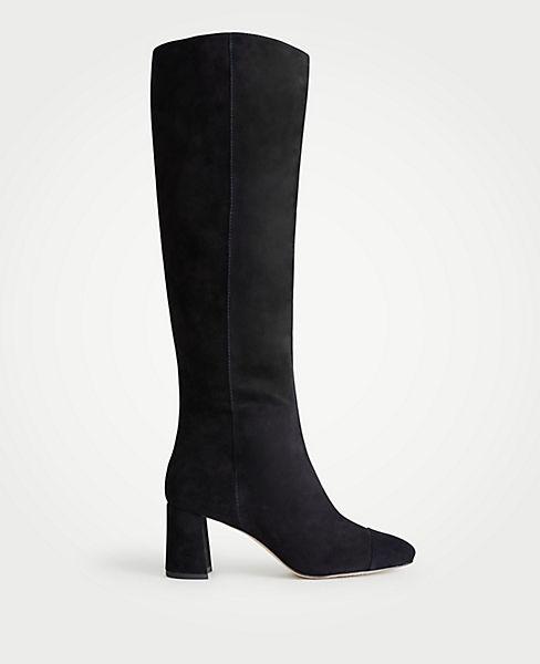 e60eb9ea720d Camden Suede Block Heeled Boots