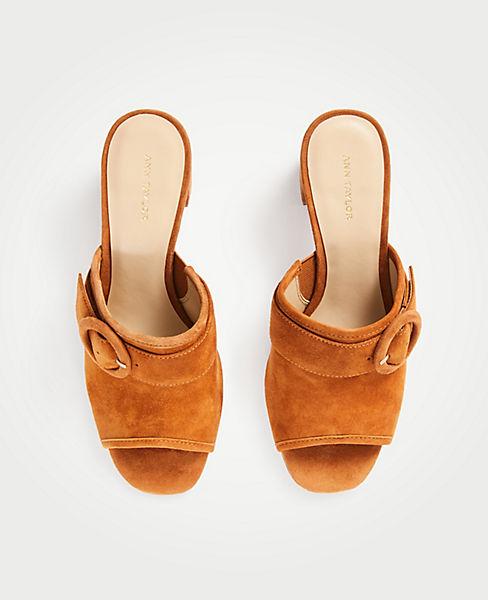 Hester Suede Block Heel Sandals