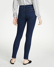 41b22d96521 Image 2 of 6 - Performance Stretch Skinny Jeans In Mid Indigo Wash