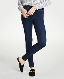 40d7950449c Image 3 of 6 - Performance Stretch Skinny Jeans In Mid Indigo Wash