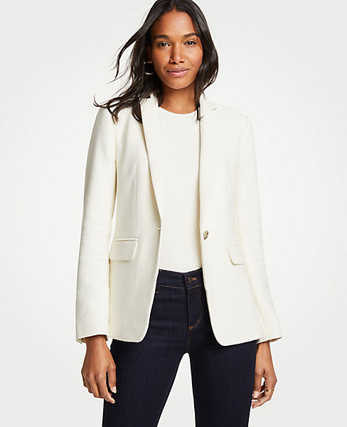The Petite Hutton Blazer