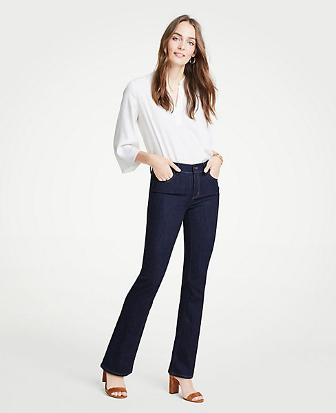 Petite Curvy Denim Boot Cut Jeans