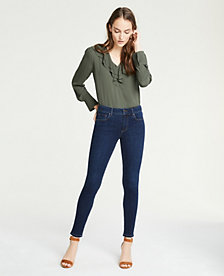e02d86167159 Image 3 of 3 - Tall Curvy Performance Stretch Skinny Jeans In Mid Indigo  Wash