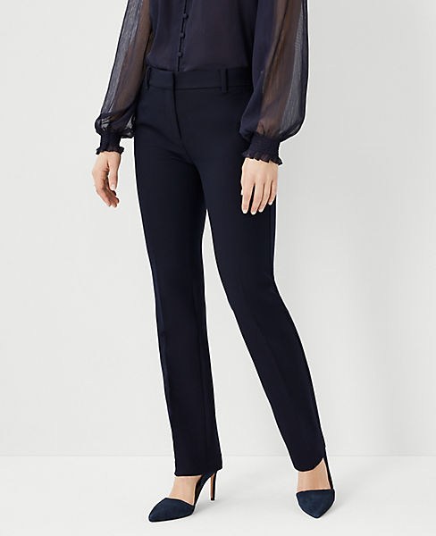 The Petite Straight Leg Pant