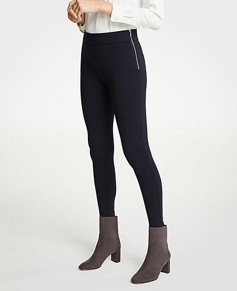 Petite Side Zip Leggings