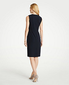 f7476cd3d Image 2 of 3 - The Petite Crewneck Sheath Dress in Seasonless Stretch