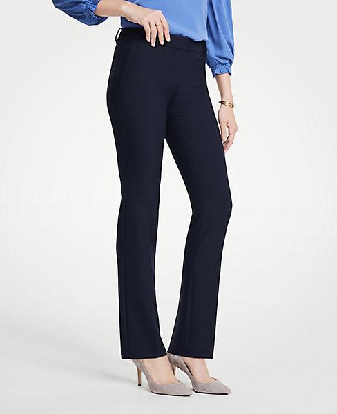 The Petite Straight Leg Pant - Curvy Fit