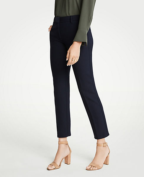 The Petite Ankle Pant In Doublecloth
